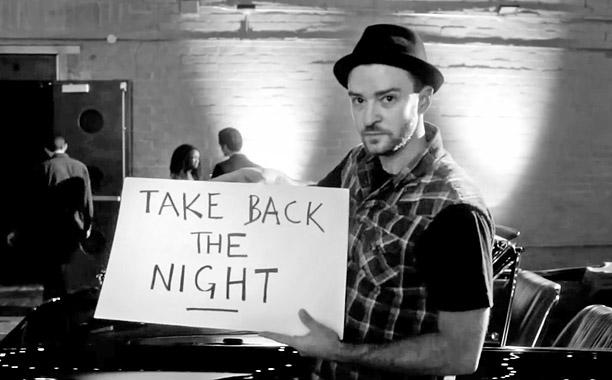 """Justin Timberlake """"Take Back the Night"""" (Screengrab)"""