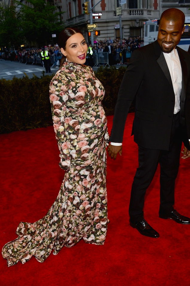Kanye-West-Givenchy-Tuxedo-Kim-Kardashian-Givenchy-floral-Gown-2013-Met-Ball-1