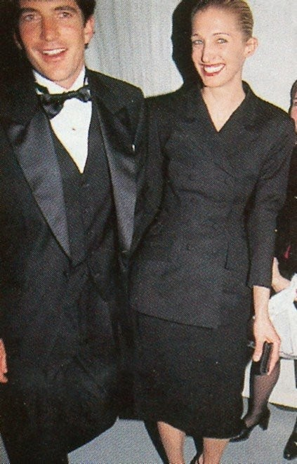 1997 jackie kennedy awards municipal arts society yohji yamamoto jacket carolyn bessette and john f kennedy jr