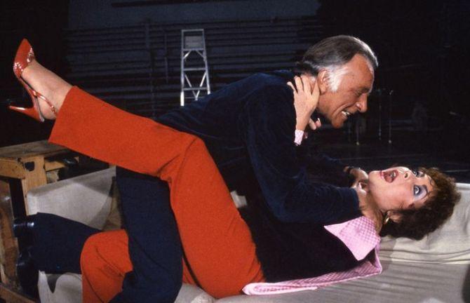 liz taylor & richard burton in private lives (1983)
