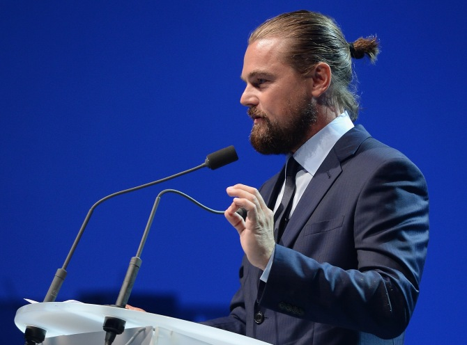 leonardo-dicaprio-man-bun-getty