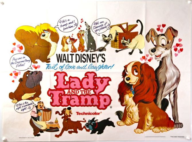 Lady and The Tramp Quad