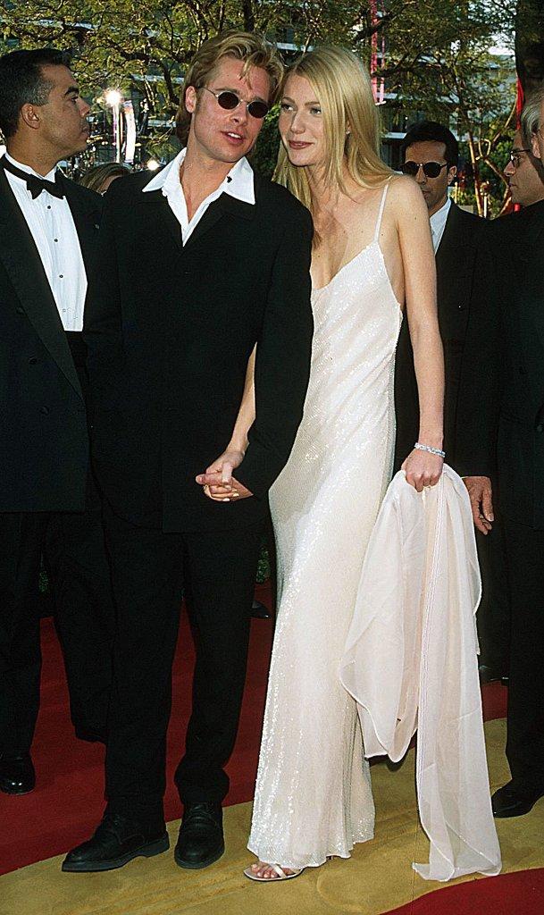 Brad-Pitt-walked-red-carpet--girlfriend-Gwyneth-Paltrow
