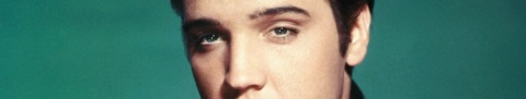 Studio Portrait of Elvis Presley