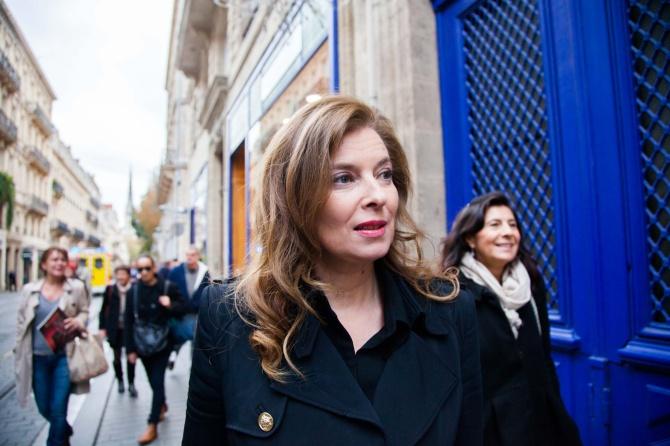 Bordeaux: Valerie Trierweiler