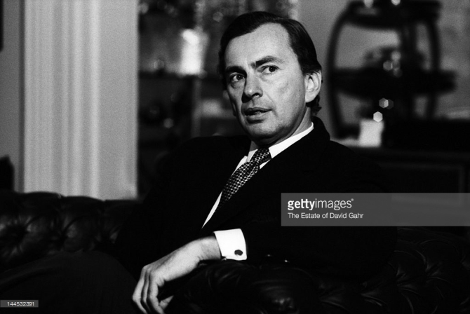 Author, playwright, essayist and political activist Gore Vidal poses for a portrait at home on March 14, 1969 in New York City, New York. CREDIT: THE ESTATE OF DAVID GAHR