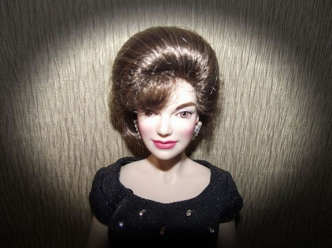 jackie franklin mint doll