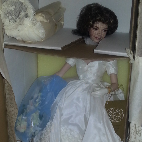 jackie kenney franklin mint doll 3
