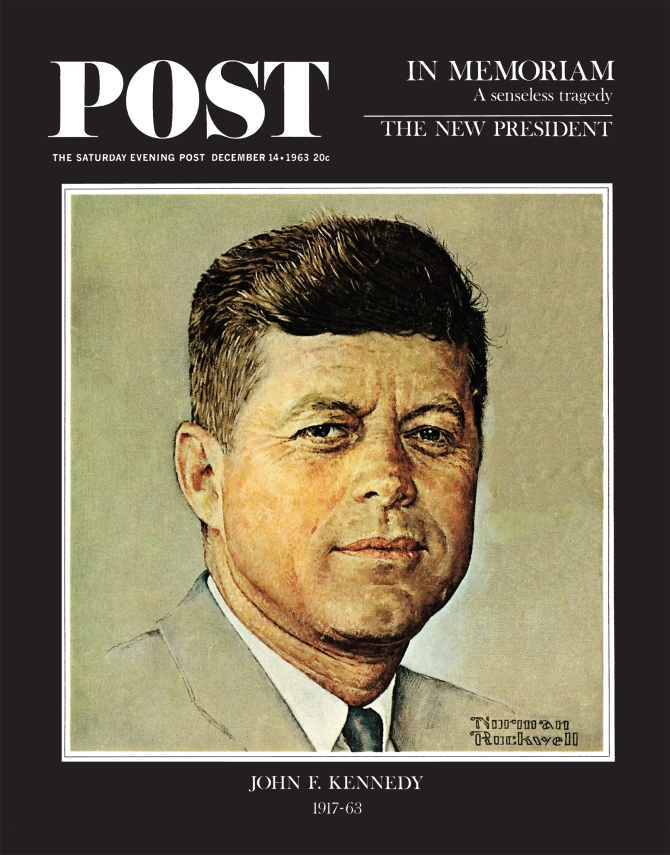 jfk saturday evening post 1963