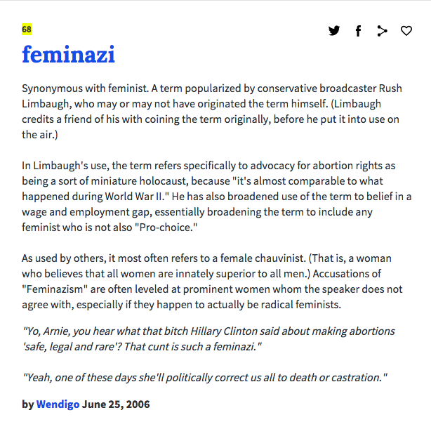 urban dictionary, 25 june 2006
