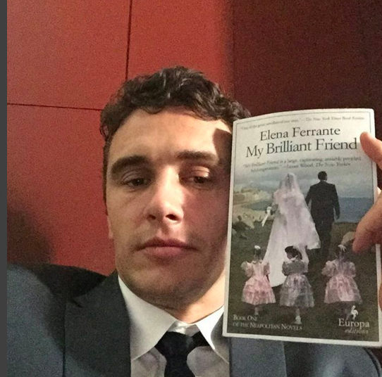 via james franco, instagram