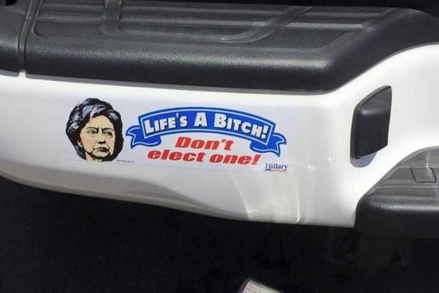 hill bitch sticker