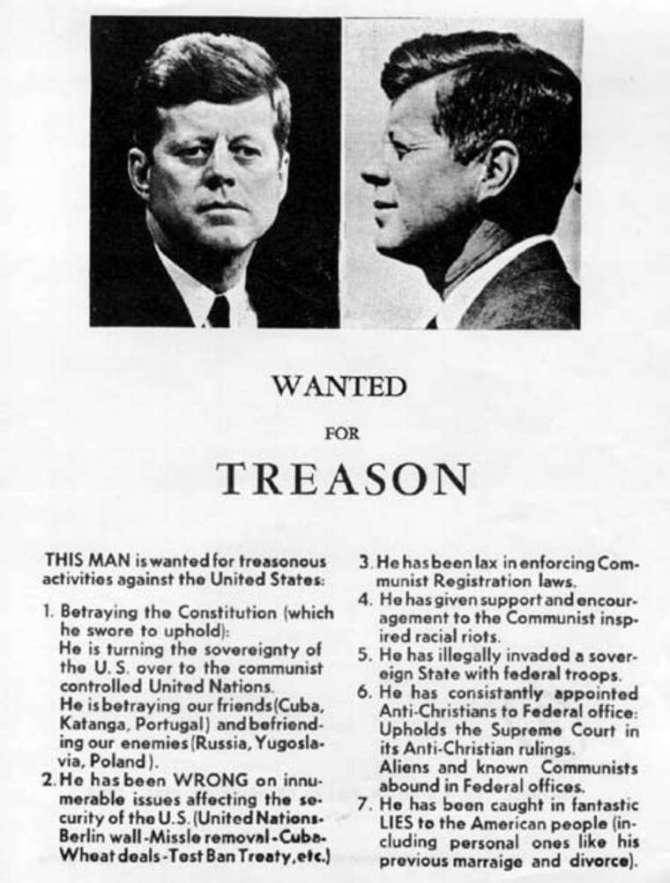 jfk treason