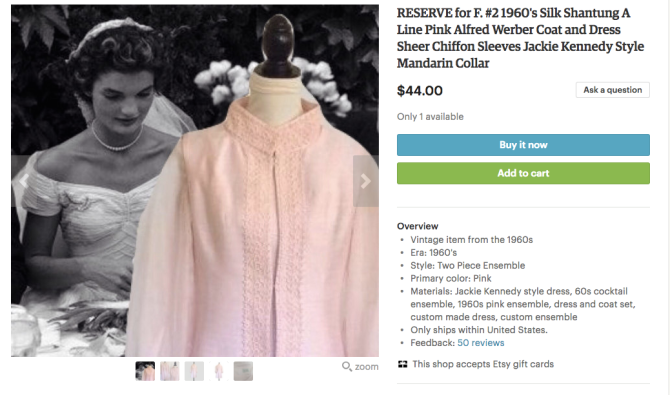 the pathos of jackie kennedy dolls on etsy, 2 0 | finding jackie